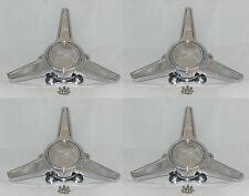 (4) FITS AMERICAN RACING REV CLASSIC 100 105 SPINNER TRIBAR WHEEL RIM CENTER CAP