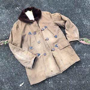 Vintage 50s Sears Hercules Barnstormer Jacket M/L 1950s Coat Cotton Canvas USA