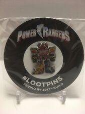 Power Rangers Megazord Pin - Loot Crate Exclusive February 2017 Bulid PIN