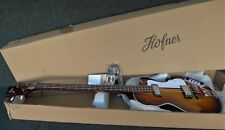 NEW HOFNER HI-CB-SB CLUB BASS GUITAR GREAT UK VIBE VINTAGE SUNBURST super light