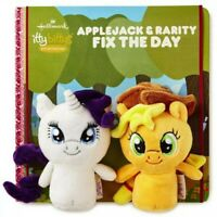 Hallmark My Little Pony Applejack & Rarity Fix The Day Itty Bittys Book Set