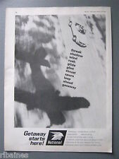 R&L Ex-Mag Advert: Getaway Ad for National Benzole