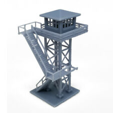 Outland Models Railroad Scenery Large Watchtower Grey N Scale 1:160
