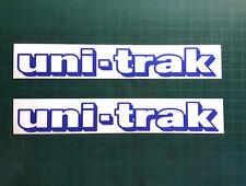 UNITRAK Kawasaki KLR 650 swingarm decals KDX KLX 250 RM KX RM-Z BLUE