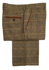 Pantaloni da uomo in poliestere alta gamba dritta