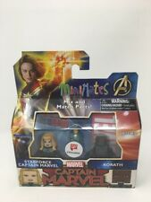 MiniMates Captain Marvel: STARFORCE CAPTAIN MARVEL & KORATH Figures!