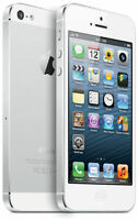 Apple iPhone 5 16GB White & Silver- Unlocked GSM (AT&T T-Mobile) Smartphone