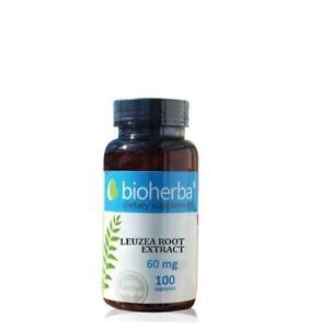 Leuzea root extract 60mg - Muscule Power,Sport activity,Energy -100caps