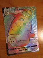NM FULL ART Pokemon MORPEKO VMAX Card SWORD AND SHIELD Set 204/202 Secret Rare