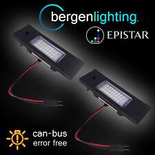 FOR BMW 1 SERIES E81 E87 F20 SEPT 2007 On 24 LED NUMBER PLATE LIGHT LAMP PAIR