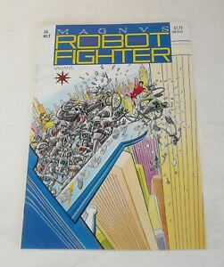 MAGNUS ROBOT FIGHTER # 2 VALIANT COMICS May 1991 with TRADING CARD INSERT