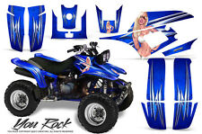 YAMAHA WARRIOR 350 GRAPHICS KIT CREATORX DECALS STICKERS YRBL