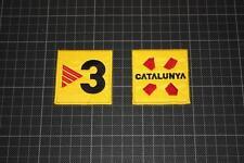 Espagnol Barcelone Catalogne et TV3 badges 2005-2006