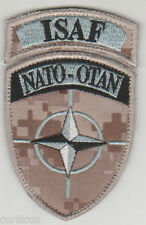 ISAF. AFGHANISTAN. NATO forces patch MARPAT