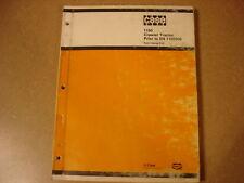 Case 1150 crawler parts manual