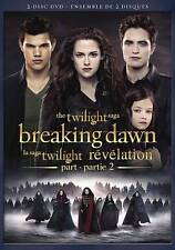 The Twilight Saga: Breaking Dawn - Part 2 (DVD, 2-Disc Set) Very Good condition!