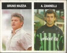 [AA] FIGURINA CAMPIONI & CAMPIONATO 1990/91-BRESCIA-ZANINELLI-MAZZIA