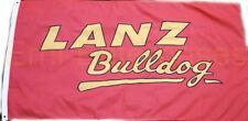 Bandera Lanz bulldog letras cheers tractor camión bandera de 1,5 M X 0,9 m nuevo decorativas