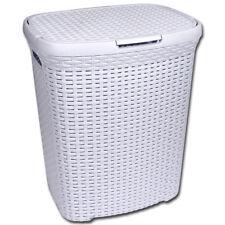 Wäschekorb Rattan Kunststoff Wäschetruhe Wäschebox Wäschesammler Wäsche Truhe w