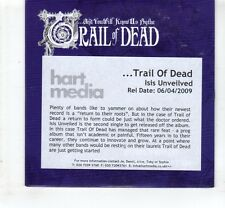 (HL477) Trail Of Dead, Isis Unveiled - 2009 DJ CD
