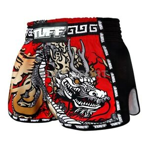 Tuff Muay Thai Shorts Kick Boxing Fight Shorts MMA Grappling Martial Arts