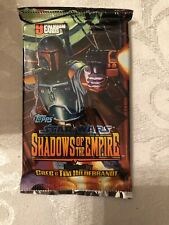 Star Wars Shadows Of The Empire Topps Trading 9 Card Pack Sealed