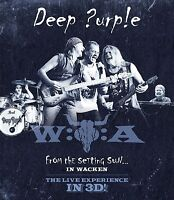 DEEP PURPLE - FROM THE SETTING SUN...(IN WACKEN)  3D BLU-RAY NEUF