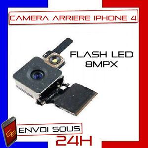 MODULE CAMERA APPAREIL PHOTO ARRIERE FLASH LED 8MPX POUR IPHONE 4