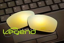 E46 Gold ETCHED POLARIZED Replacement Legend Lenses For Oakley HIJINX