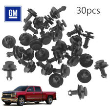 30PCS Lower Front Air Dam Deflector Retainer Clip 15733971 For GM Cadillac Chevy