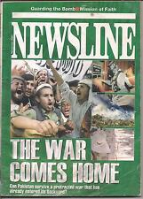 NEWSLINE-nov 2001-THE WAR COMES HOME.