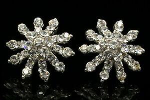 Cat love heart Corss snowflake spotlight star crystal rhinestone woman earrings