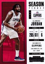 DEANDRE JORDAN 2017-18 PANINI CONTENDERS Basketball cartes à collectionner, #100