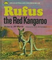 Australian Golden Book Rufus the Red Kangaroo by Jill Morris (HB, 1973) Vtg 70s
