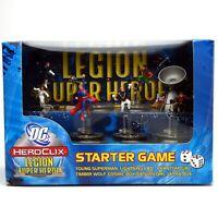 HeroClix DC LEGION SUPER HEROES STARTER GAME Set Hero Clix Superheroes NEW