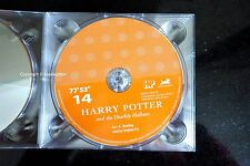 Harry Potter Deathly Hallows Audio Book CD DISC SPARE: FOURTEEN 14 Stephen Fry