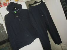 """hugo boss tracksuit in navy size top L 42"""" chest & bottoms M 32"""" waist"""