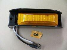 190 Series Led Marker With Black Mounting Guard Yellow Lensyellow Leds
