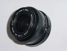 Pentax PKA Fit MIRAGE 28mm F/2.8 MC MACRO WIDE ANGLE MANUAL FOCUS LENS