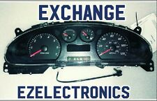 2005 TO 2007 TAURUS, MERCURY SABLE INSTRUMENT CLUSTER 4F1T-10849-HA exchange!