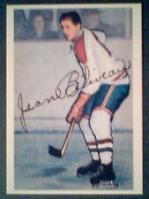 JEAN BELIVEAU  HABS' LEGEND  '53-54 PARKHURST REPRINT ROOKIE PROMO CARD #27