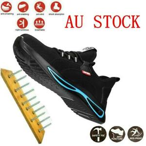 Mens Safety Shoes Work Sneakers Womens Steel Toe Cap Lightweight Hiking Boots