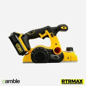 RTX1847B CORDLESS PLANER & BATTERY & CHARGER- RTRMAX