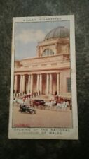 WILLS CIGARETTE CARD REIGN OF GEORGE V. #26 OPENING OF NATIONAL MUSEUM OF WALES