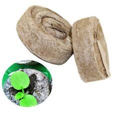 6pcs Peat Pellets Seed Starter Seedling 35mm Condense Soil Block Nursery Oj