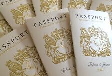Passport Wedding Invitation | Beach | Travel | Abroad Wedding