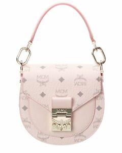 Mcm Patricia Visetos Shoulder Bag Women's Pink