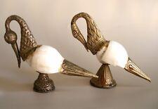 Nice Old Tibetan Buddhist Lama Used Sankha, Dhun, Conch Sea Shell, Nepal storks