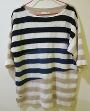 Lacoste Sweater Mens Short Sleeve Heavy Cotton Size L RRP $200