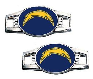 Los Angeles Chargers Shoe Charms / Pair of 2